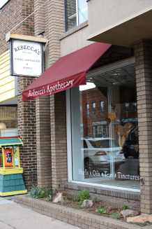 rebeccas-apothecary-signage