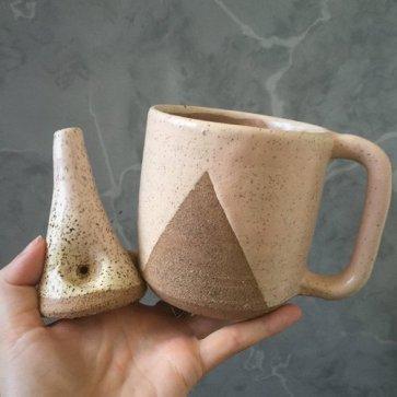 Paperclip Pottery Wake n Bake Set